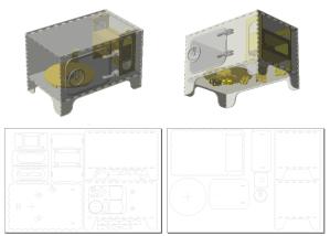3D Scanner Model & Parts